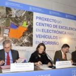 Teresa Táboas en la presentación de la ampliación de CTAG