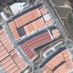 Imagen aérea del polígono de Novo Milladoiro