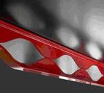 Vista de la viga creada por Claude Vasconi y ArcelorMittal