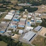 Vista aérea del polígono industrial de Vilalba