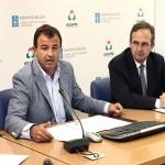 Javier Guerra, Conselleiro de Economía e Industria, y Joaquín Varela, nuevo director del Igape