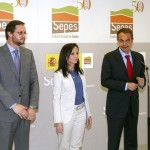 Visita de Zapatero a las instalaciones de Sepes