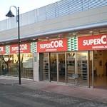 Vista de una tienda Supercor en Madrid