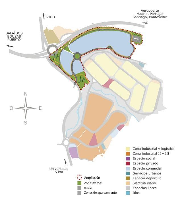 Ampliación del Parque Tecnológico y Logístico de Valladares, Vigo