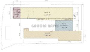 Galicia Naves, ref. 2594 - Plano